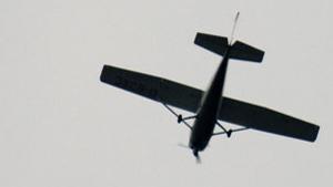 Flugzeug-Absturz